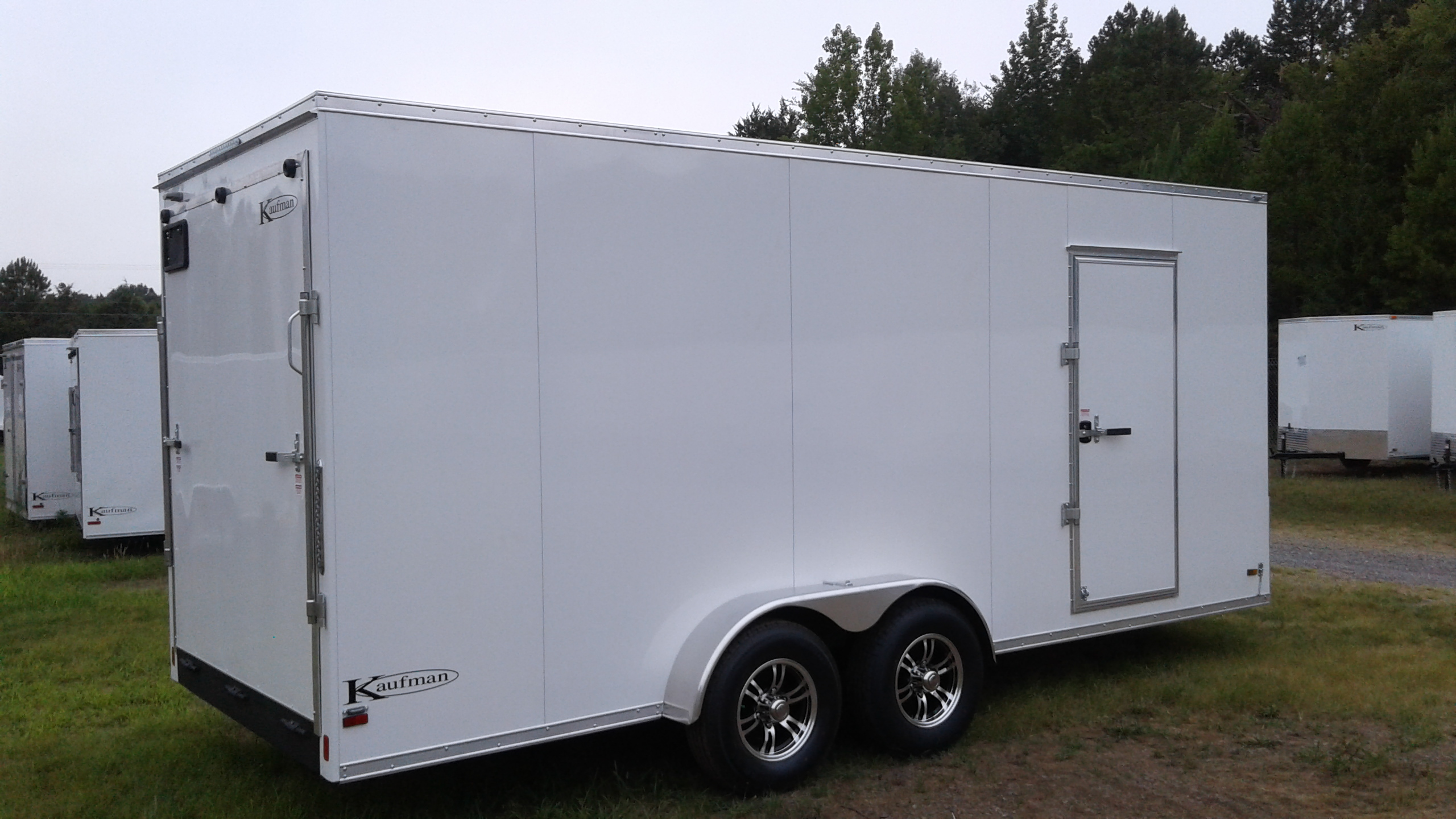 Single Axle Cargo Trailers For Sale By Kaufman Trailers