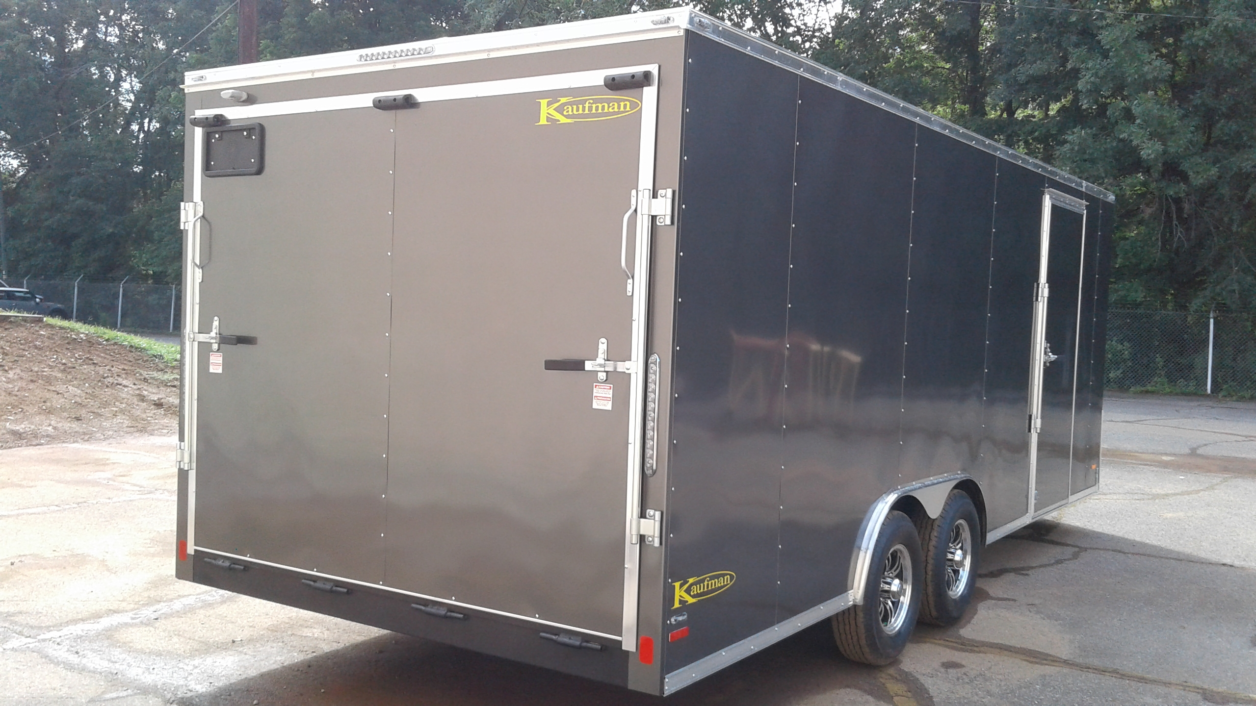 Enclosed Car Haulers For Sale By Kaufman Trailers